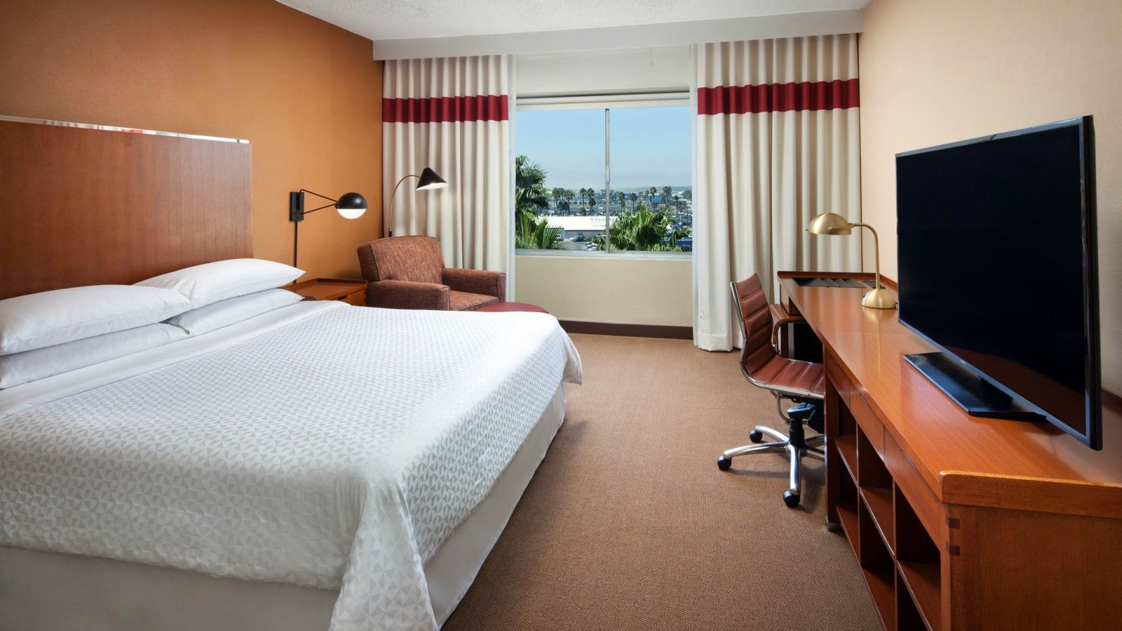 LAX Accommodations - Deluxe King Room